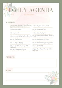 Pastel Bordered Personal Planner (3)