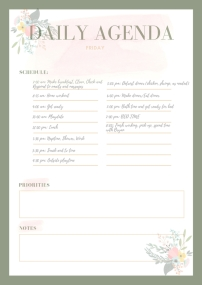 Pastel Bordered Personal Planner (5)