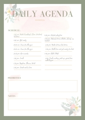 Pastel Bordered Personal Planner